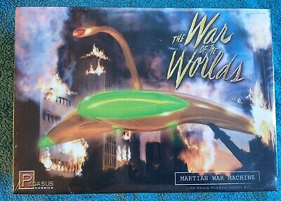 Pegasus Hobbies Model Kit 9001 War Of The Worlds Martian War Machine 1/48 New • 45£