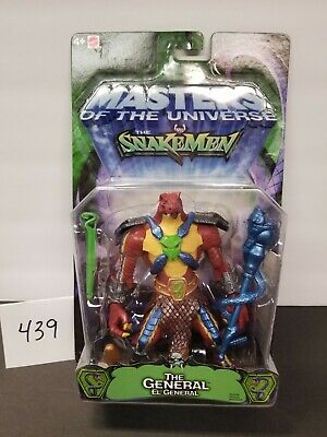 $68 • Buy THE GENERAL 200X Figure MOTU, MASTERS OF THE UNIVERSE VS SNAKEMEN - HE-MAN