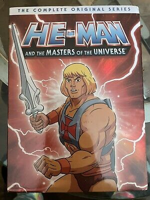 $33 • Buy He-Man And The Masters Of The Universe: The Complete Original Series (DVD,...