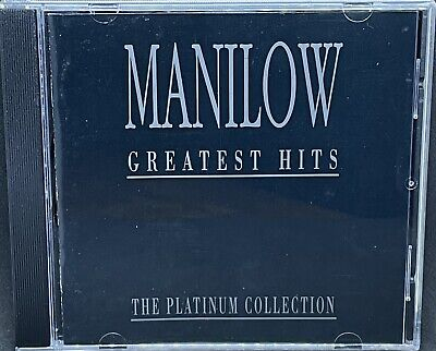 Barry Manilow - Greatest Hits, The Platinum Collection, Cd Album, (1993). • 0.99£