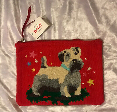 NEW Cath Kidston 'Billy Dog' Pencil Case - New & Unused • 12.99£