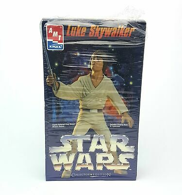 Original ☆ LUKE SKYWALKER VINYL MODEL KIT STAR WARS Figure ☆ AMT ERTL • 16.99£