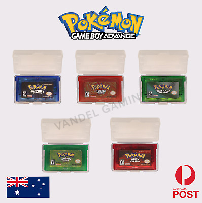 AU24.90 • Buy 🇦🇺Pokemon Gameboy Advance Games GBA - High Quality - Fast Shipping