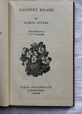 Alison Uttley Country Hoard HB Ed Illus C F Tunnicliffe • 10£