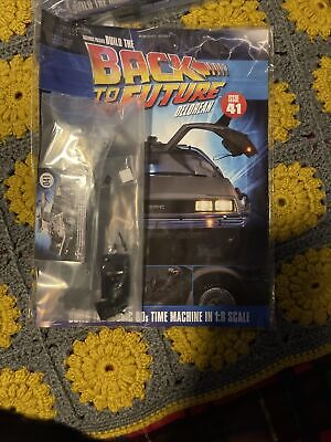 1:8 Scale Eaglemoss Back To The Future Build Your Own Delorean Issue 41 Complete • 25£
