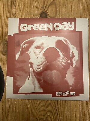 Green Day Greenday Slappy EP 7  Black Vinyl 1990 Lookout! Records #35 • 34.99£