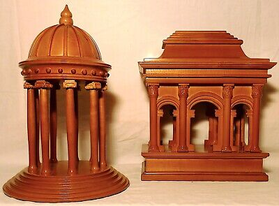 Neoclassical Architectural Models, Late 20th Century - A Pair • 291.91£