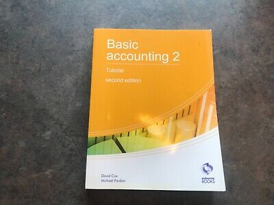 Osborne Books Basic Accounting 2 Tutorial Aat Level 2 Accounting • 0.99£