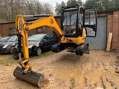 2005 Jcb 8027 Zts * * Only 3000 Hours * * Excavator Mini Digger  2.8 Ton • 11,500£