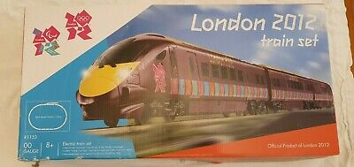 HORNBY R1153 OLYMPIC 2012 TRAIN Set Very Good Condition • 45£