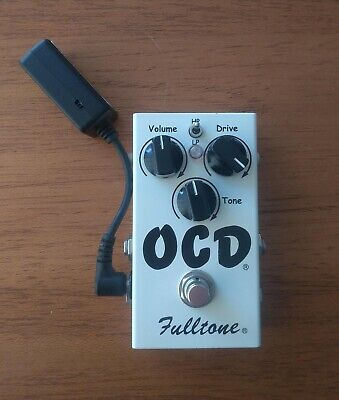 Fulltone OCD Guitar Effects Pedal With Xotic Voltage Doubler Boxed • 79£