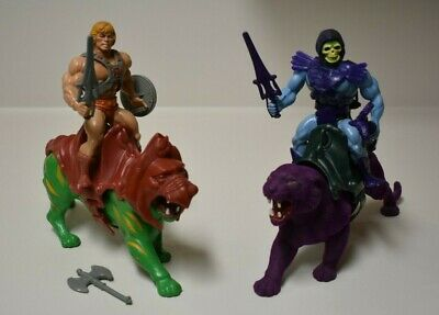 $35 • Buy Masters Of The Universe He-Man, Battle Cat, Skeletor, Panthor