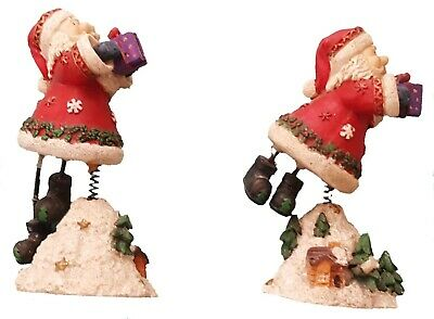 Santa Mantle Piece Ornaments  • 0.99£