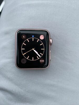 $ CDN60.99 • Buy Apple Watch (Series 1) 38mm Rose Gold Aluminum Case Without Band