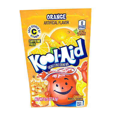 Kool-Aid Unsweetened Soft Drink Mix, Orange, 0.15 Ounce (Pack Of 48) • 23.51£