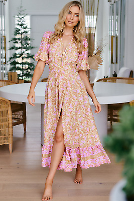 AU94 • Buy NEW Honeycomb Maxi Dress Salty Crush Women Fashion Style Ladies