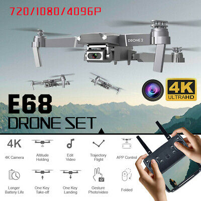 AU28.93 • Buy 4K GPS Drone X Pro With HD Camera Drones WiFi FPV Foldable RC Quadcopter Battery