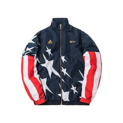 $ CDN252.08 • Buy KITH X ADIDAS WINDBREAKER JACKET OVERSIZED GENUINE ORIGINAL OG DS RETRO BNWT XS