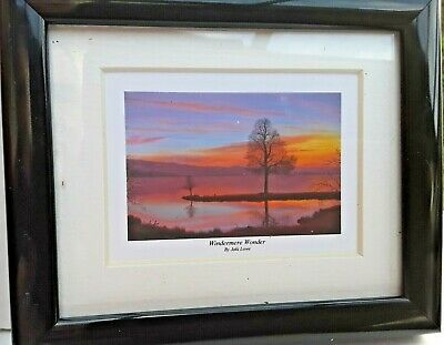Windermere Wonder The  Lake District  By Jaki Lowe Mounted Or Framed  • 9.99£