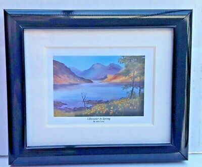 Ullswater In Spring The  Lake District  By Ann Celia  Mounted Or Framed  • 9.99£