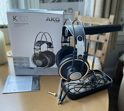 View Details AKG Reference Headphones K702 - Over Ear/Open Back Headphones With Free Stand • 51.00£