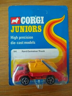 Corgi Juniors #54 Ford Container Truck Unopened Card • 13.49£