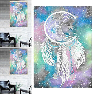 AU14.34 • Buy 5D DIY Dream Catcher Drill Diamond Painting Embroidery Cross Stitch Kits Decor