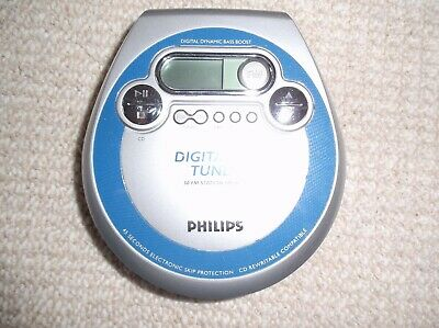 Philips AZT3202/05Z Personal CD Player/FM Tuner • 10£
