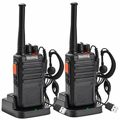 $ CDN61.19 • Buy 2PCS USB Rechargeable Two-way Radio Walkie Talkies Long Range 16CH