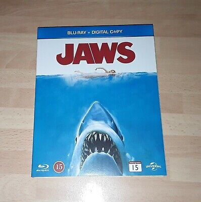 Jaws Blu Ray With Ltd Edition Slipcover • 11.49£