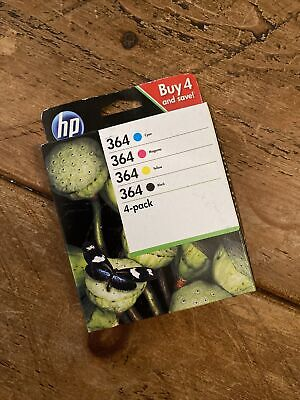 Genuine Hp 364 Ink Cartridges Multipack • 20£