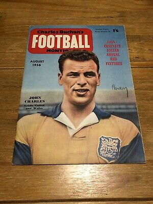 £3 • Buy Charles Buchan's Football Monthly - August 1956