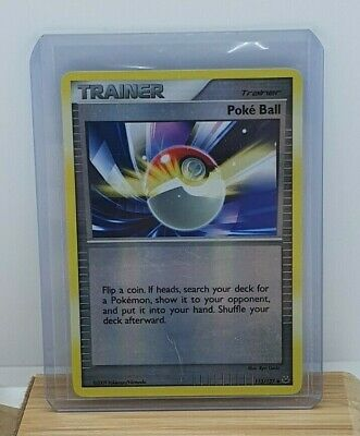 Poke Ball Reverse Holo / Shiny Pokemon Card Platinum Base Set 113/127 Light Play • 2.25£