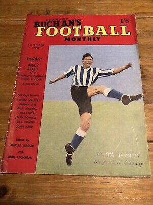 £5 • Buy Charles Buchan's Football Monthly - October 1952