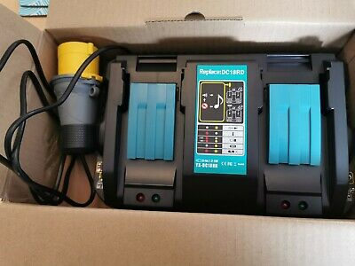 Double110v Charger For Makita 18v  With Twin USB Ports  • 62£