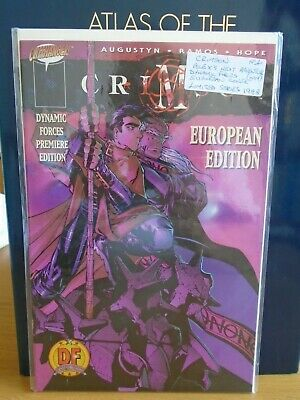 Crimson No1 Dynamic Forces Comic Book European Cover 1998 With Certificate. • 6.99£