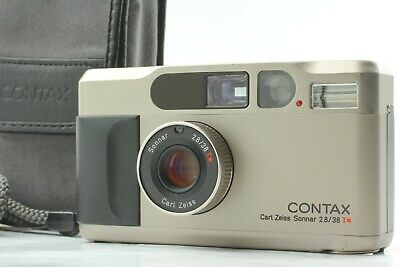 $ CDN1172.36 • Buy 【MINT W/CASE STRAP】 Kyocera Contax T2 DATA BACK Point & Shoot From JAPAN #1125
