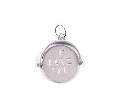Vintage Silver Spinning Charm I Love You Spinner 925 Sterling 1g • 19.99£