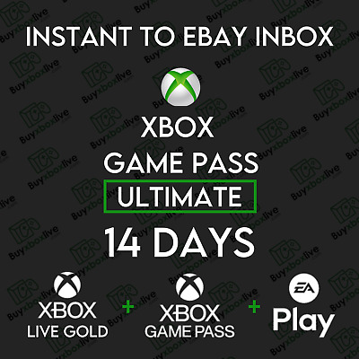 $ CDN4.24 • Buy 14 Day XBOX LIVE GOLD + Game Pass Ultimate Code (2 Weeks) INSTANT DISPATCH 24/7