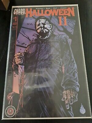 Halloween II #1 Dynamic Forces Exclusive Red Foil Cover. SEALED • 100£
