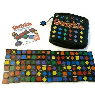 $ CDN18.93 • Buy MindWare Travel Qwirkle Travel Game Complete With Instructions Zipper Bag