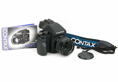 $ CDN12640.72 • Buy Contax 645 Carl Zeiss Planar T Af 80Mm F2 120 Back Medium Format Film Camera