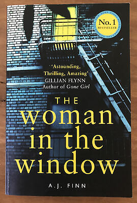 AU15 • Buy The Woman In The Window By A. J. Finn (Large Paperback)
