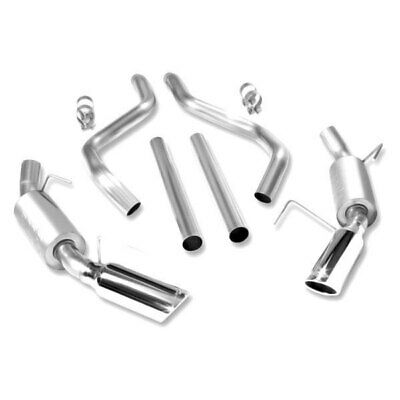 $753.34 • Buy For Ford Mustang 05-09 Exhaust System ATAK Stainless Steel Cat-Back Exhaust