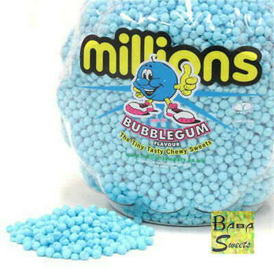 £2.09 • Buy Millions Bubblegum Chewy Candy Sweets Blue Flavor