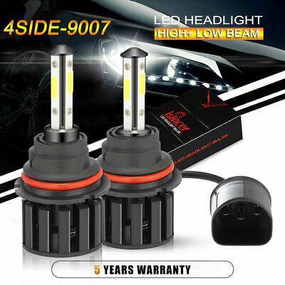 $13.77 • Buy Pair 9007 HB5 LED Headlight Bulbs Conversion Kit High Low Dual Beam 6500K White