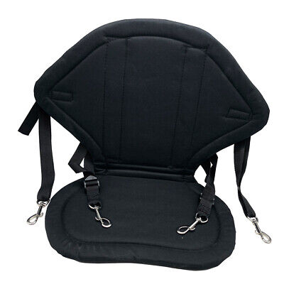 £15.55 • Buy Deluxe Kayak Seat Adjustable Canoe Back Rest Support Cushion Fishing Boat