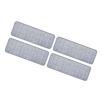 4pcs Replacement Flat Mop Pad Kitchen Bathroom Floor Duster Cleaning Cloths • 5.56£