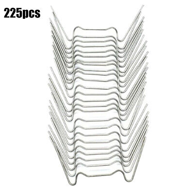 225Pcs W Wire Glazing Clips Stainless Accessories For Aluminium Greenhouse • 13.42£
