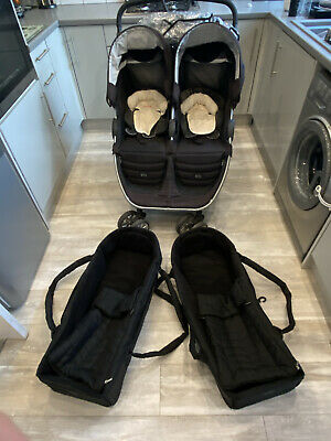 Britax B Agile Double Pushchair And Accessories • 195£